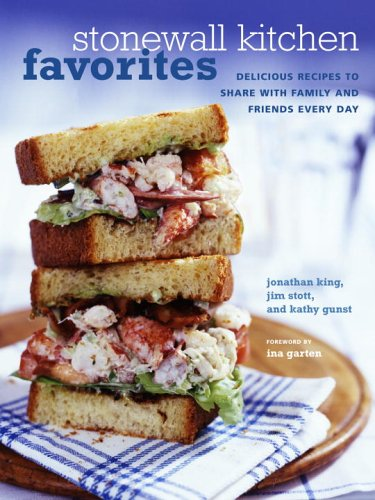stonewall kitchen favorites cookbook review